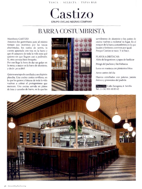 CASTIZO Sevilla Selecta