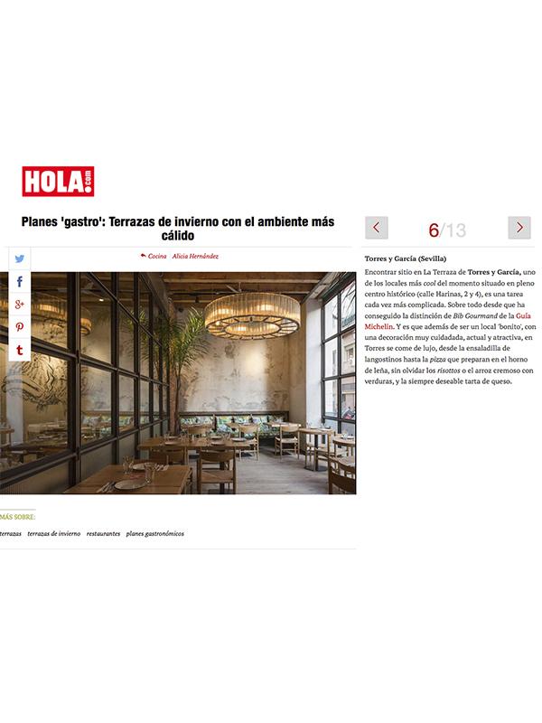 HOLA digital TORRES Y GCIA
