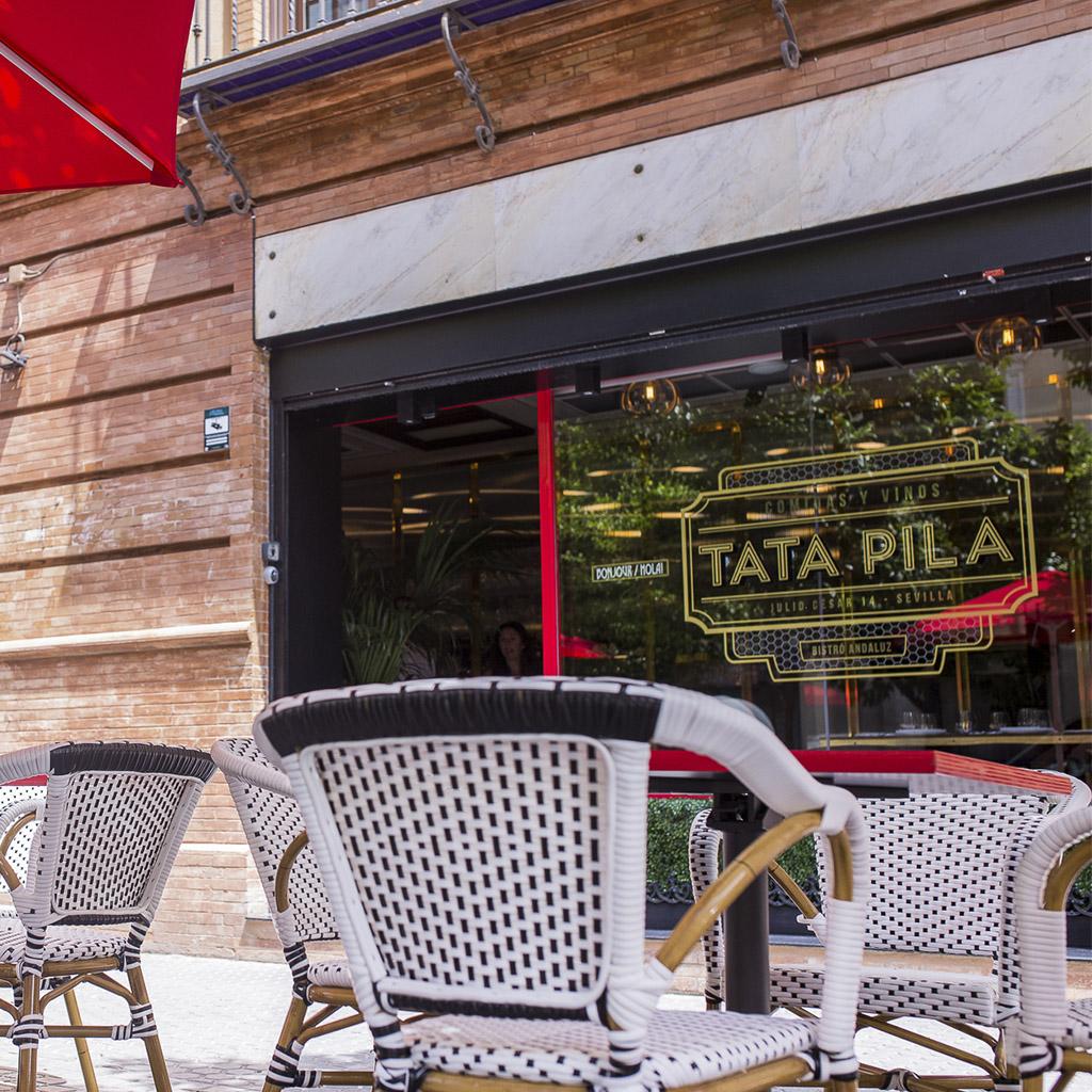 Restaurante Tata Pila terraza