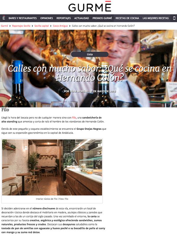 Calles con mucho sabor: ¿Qué se cocina en Hernando Colón?