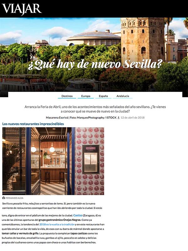 ¿Qué hay de nuevo Sevilla?
