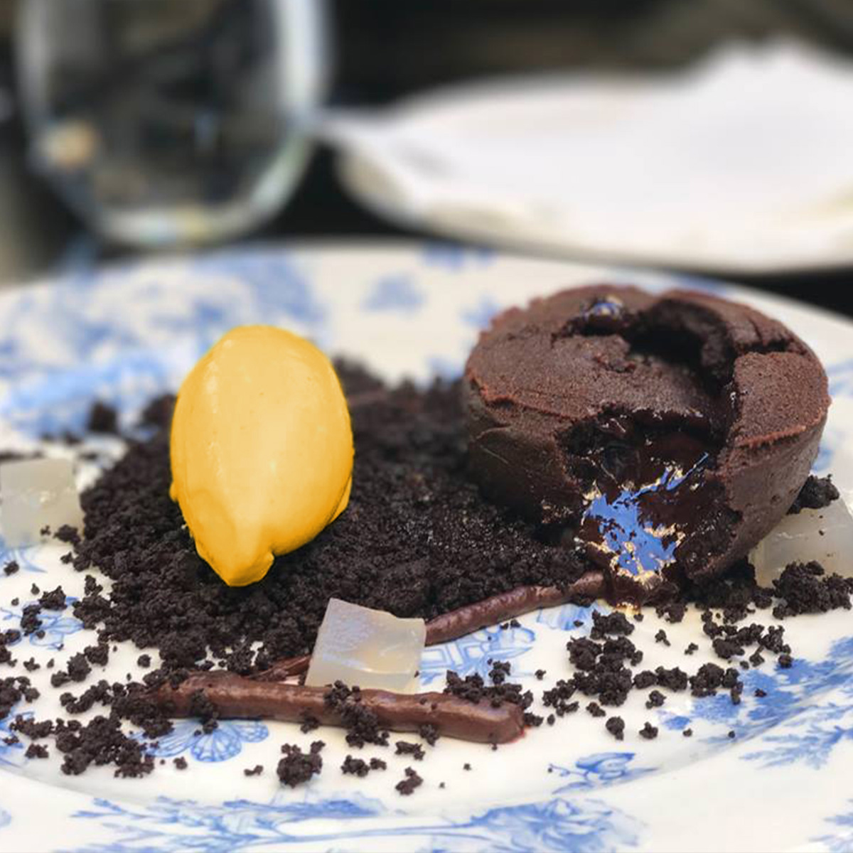tarta chocolate filo