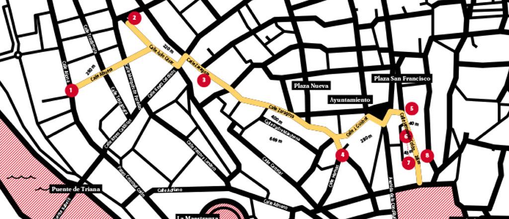 mapa hernando colon sevilla